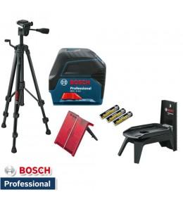 Kombinovani laser Bosch Professional GCL 2-15 + Stalak BT 150