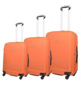 Komplet 3 kofera za putovanja Dablin narandžasta