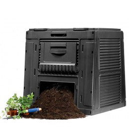 Komposter za pravljenje i čuvanje organskog đubriva 470L sa bazom