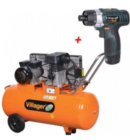 Kompresor Villager ZA 65 - 100L + Poklon