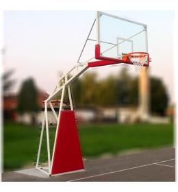 Košarkaška konstrukcija sa staklenom tablom