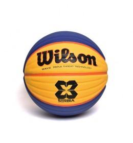 Košarkaška lopta Wilson FIBA 3x3 Serbia Official Game