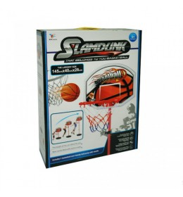 Košarkaški set sa loptom visine 145cm