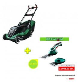 Električna kosilica za travu Bosch Advanced Rotak 650 + poklon