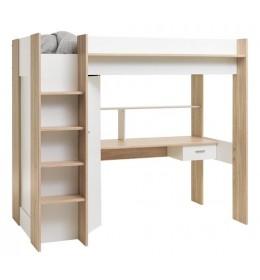 Krevet povišen LUNA WHITE 90x200