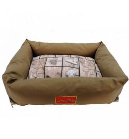 Krevet za psa od vodoodbojnog materijala Doris L