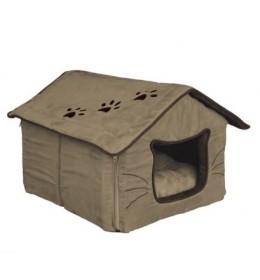 Kućica ležaljka za mačke Hilla 40 cm Trixie boja peska