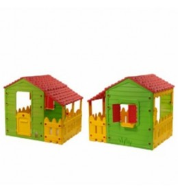 Kućica ogradom 146X118X127