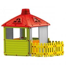 Kućica sa ogradom za decu