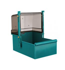 Kućiza za kupanje za papagaje 16x26x22 cm zelena