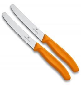 Victorinox kuhinjski nož 11 cm 2 kom Orange