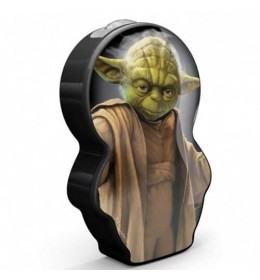 Philips Baterijska decija lampa Star wars - Yoda crna 71767/99/16