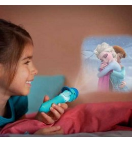 Philips Baterijska LED dečija lampa 2 u 1 Frozen 71788/08/16