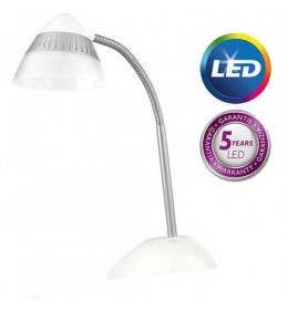 Philips Stona lampa Cap bela LED 70023/31/16