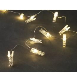 Lampice LU sa 10 LED