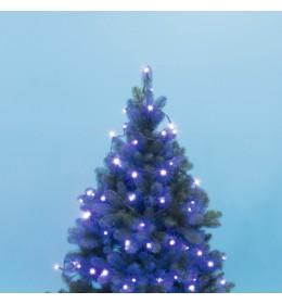Lampice za jelku sa 50 LED dioda Plave KII50/BL