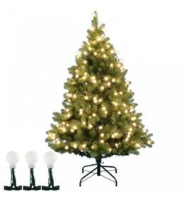 Lampice za jelku sa 50 toplo belih LED dioda KIB50/WW