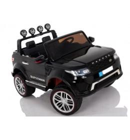 Automobil na akumulator Land Rover Crni dvosed