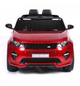 Land Rover Discovery 239/1 Licencirani džip sa kožnim sedištem i mekim gumama  Metalik Crveni