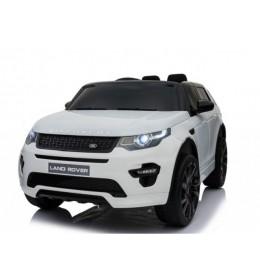 Land Rover Discovery 239 Licencirani džip sa kožnim sedištem i mekim gumama Beli
