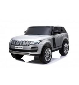 Auto na akumulator Land Rover Dvosed Licencirani 4x4 Sivi