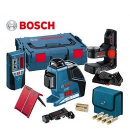 Laser za linije Bosch Professional GLL 3-80 P + BM1 + LR2 L Boxx