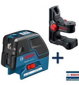 Laser za tačke Bosch  Professional GCL 25 +BM1