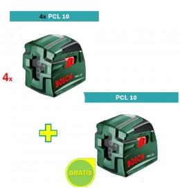 Laser za ukrštene linije Bosch PCL 10 4 kom + PCL 10 GRATIS