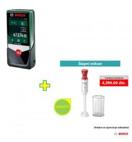 Digitalni laserski daljinomer Bosch PLR 50 C + poklon