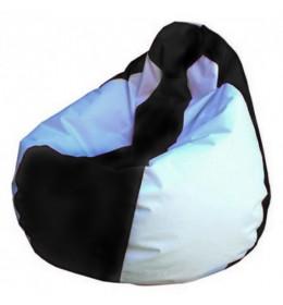 Lazy bag šoteks crno-beli S