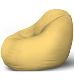 Lazy Bag eko koža svetlo žuta L