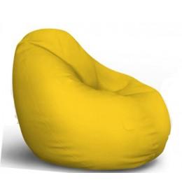 Lazy Bag eko koža žuta S