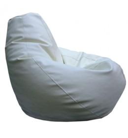 Lazy bag eko koža L white