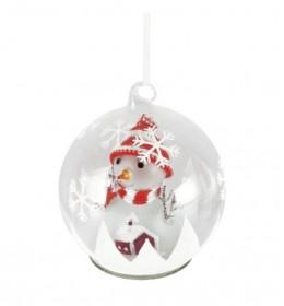 LED kugla sa figuricom Sneško GLG13/RD