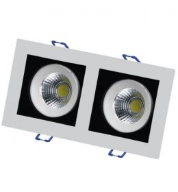 LED lampa ugradna  16W dnevno svetlo LUG6430-16/W