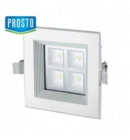 LED lampa ugradna 4x1W dnevno svetlo LUG835-4/W