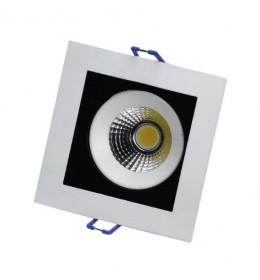 LED lampa ugradna 8W dnevno svetlo LUG6430-8/W