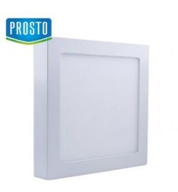 LED nadgradna panel lampa 18W toplo bela LNP-P-18/WW PROSTO