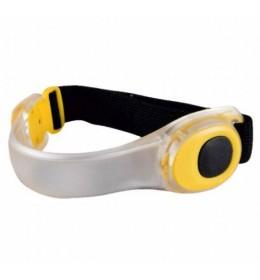 LED narukvica za ruku ili nogu za bicikliste FB2LED/YE