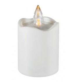 LED sveća plastična 10cm CDX2/WH