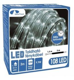 LED svetleći kabal 3 m hladno bela