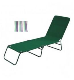 Ležaljka sa šarenim prugama