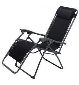 Ležaljka Relax crna