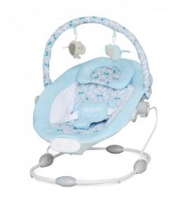 Ležaljka za bebe muzička Siesta blue