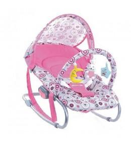 Ljuljaška za bebe Glory Bike roze