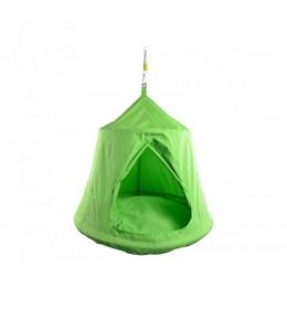 Ljuljaška gnezdo Sharky Tent svetlo zelena