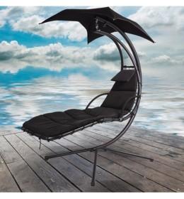 Ljuljaška za baštu Relax black