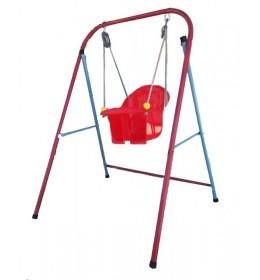 Ljuljaška za decu crvena