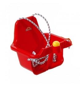 Ljuljaška za decu sa trubicom crvena
