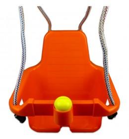 Ljuljaška za decu sa trubicom narandžasti